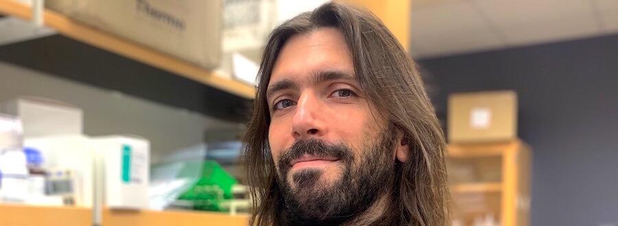L'investigador Alejo Rodríguez-Fraticelli, cap del nou laboratori Quantitative Stem Cell Dynamics (Foto: IRB Barcelona).