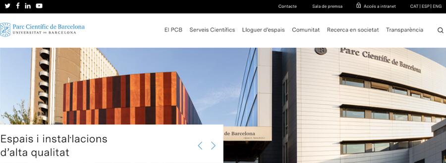 El Parc Científic de Barcelona estrena nueva web