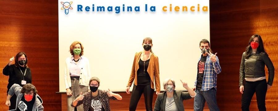 """Novartis, Big Van Ciencia i el Parc Científic de Barcelona anuncien els premiats de la 1a edició de """"Reimagina la Ciència"""""""