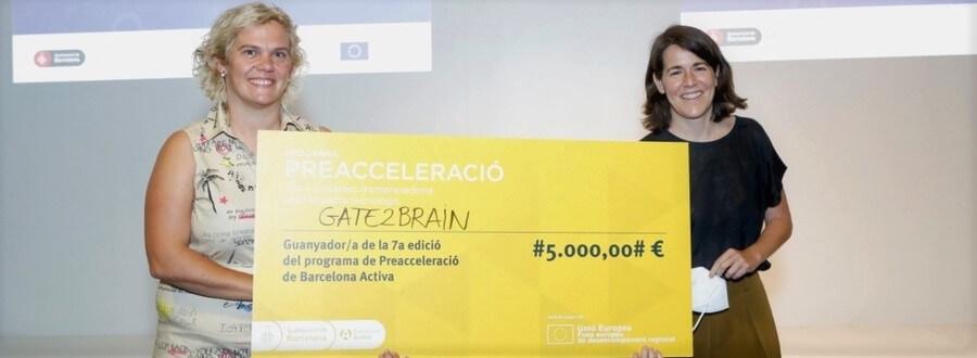 Gate2Brain guanya la 7a edició del programa de Preacceleració de Barcelona Activa